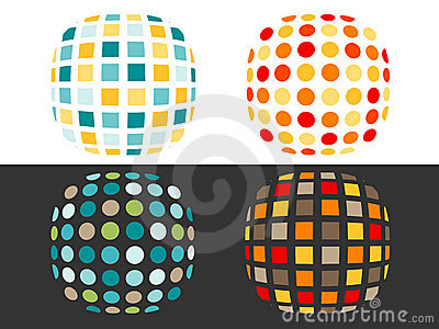 Spots and squares