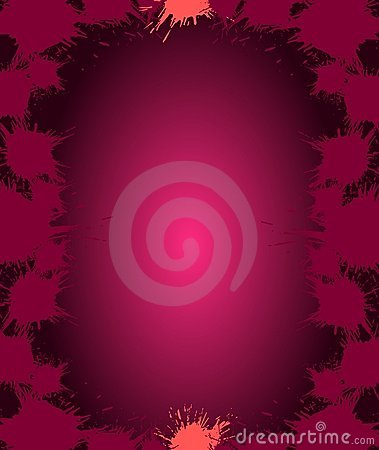 Spots on violet background