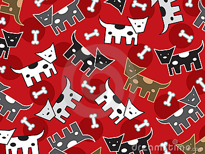 Spotted doggies pattern