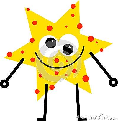 Spotty star