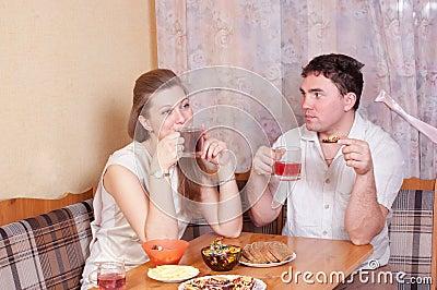 Spouses talk