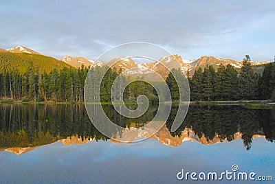 Sprague Lake, Rocky Mountains