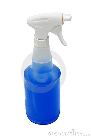 Spray Bottle with clipping path