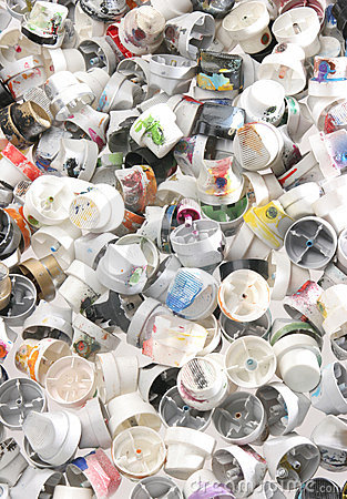 Free Spray Caps 4 Royalty Free Stock Images - 6004789