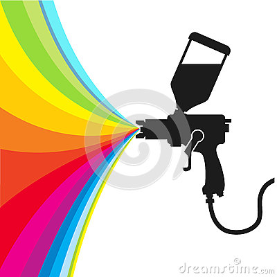 Free Spray Paint Vector Stock Photography - 40119792