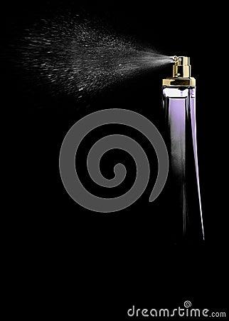 Free Spray Perfume Stock Image - 12260251