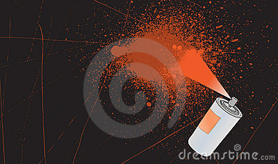 Spray splatter background
