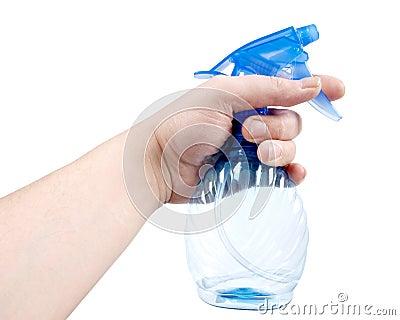 Sprayer in hand