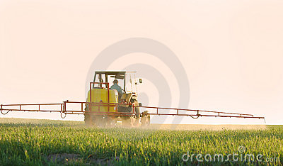 Spraying the Crop
