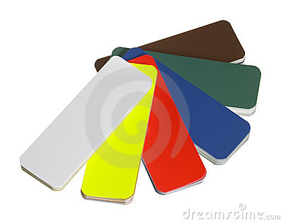 Spread color chart