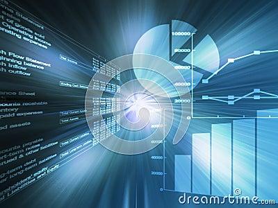 Spreadsheet data green