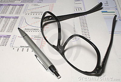 Spreadsheets and glasses