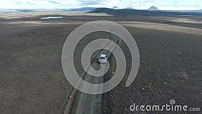Sprengisandur, Ισλανδία απόθεμα βίντεο
