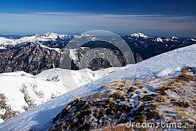 Spring in Austria Alps
