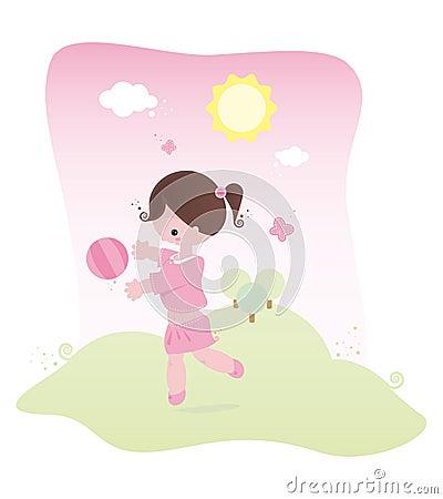 Spring baby pink