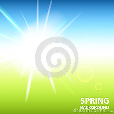 Spring background Stock Photo