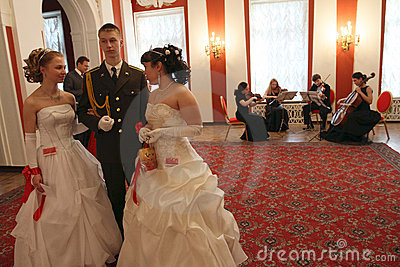 Spring ball Moscow Nobility Assembly Editorial Stock Image