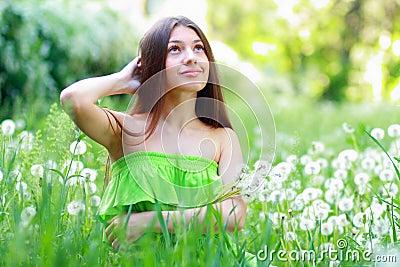 Spring Beauty Girl