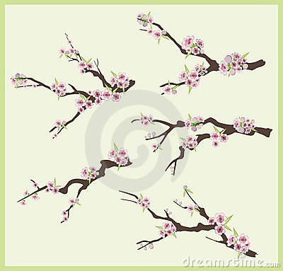 Spring branch design set