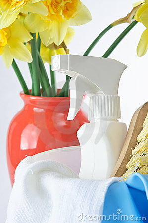 Free Spring Cleaning Royalty Free Stock Images - 18903439