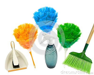 Spring cleaning com cores!