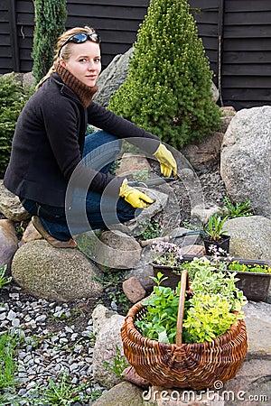 Spring cleaning im Garten