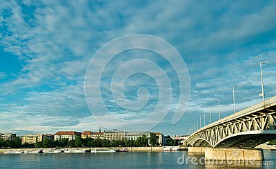 Spring clouds over Budapest