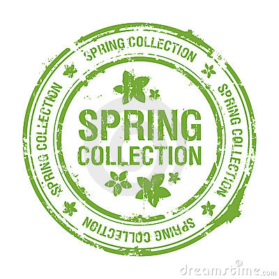 Spring collection stamp