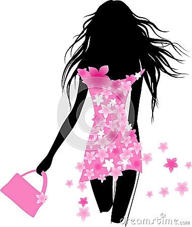 Free Spring Dress Stock Image - 13256491