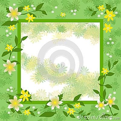 Spring fling frame