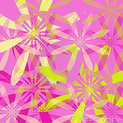 Spring floral background - pink
