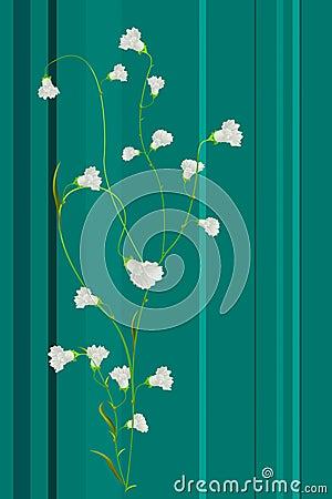 Spring floral print