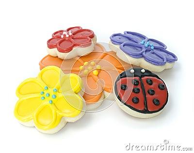 Spring Flower Gourmet Cookies