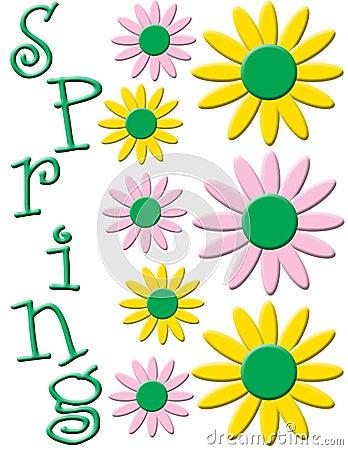 Free Spring Flower Illustration Royalty Free Stock Images - 7834839