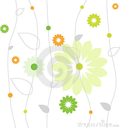 Free Spring Flower Pattern Royalty Free Stock Image - 4449826