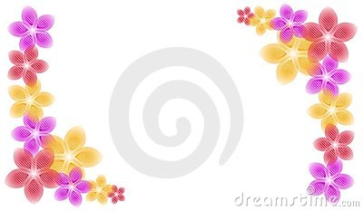 spring flowers corner piece borders stock image image clip art audio records clip art audio free