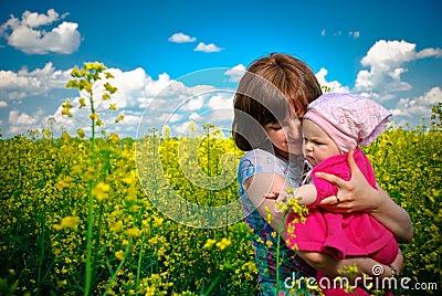 Spring flowers joy