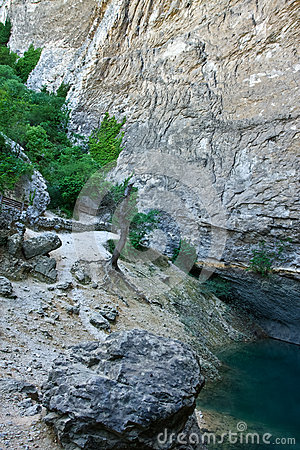 The Spring at Fontaine-de-Vaucluse