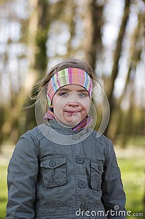 Spring girl portrait