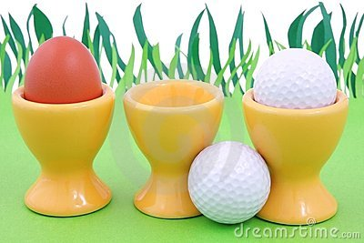 Spring and golf