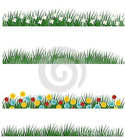 Spring grass variations
