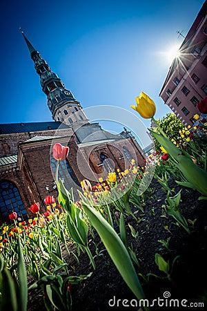 Spring mood in Old Riga