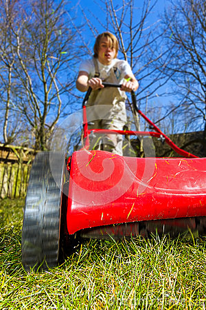 Free Spring Mowing Stock Photography - 30207862