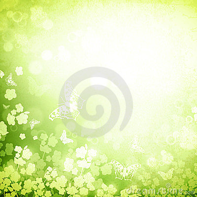 Free Spring Or Summer Green Grunge Background Royalty Free Stock Photo - 24022685
