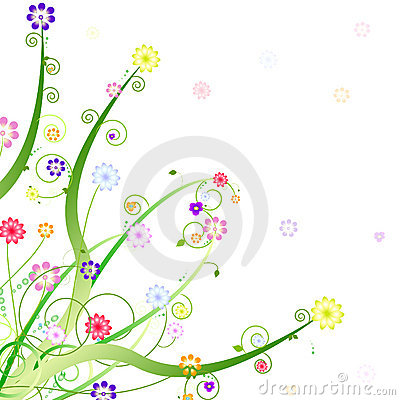 Spring ornament design
