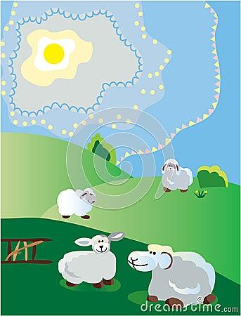 Free Spring Pastoral Stock Image - 2197951