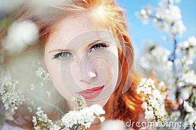 Spring portrait