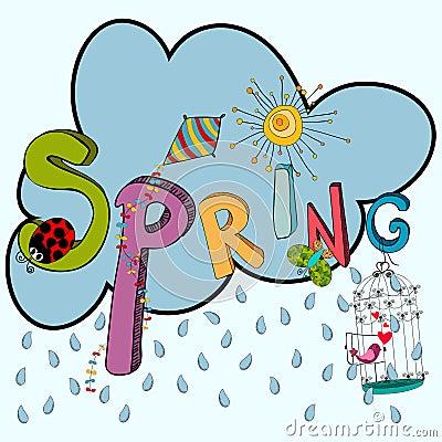 Free Spring Raining Cloud Stock Image - 29162701