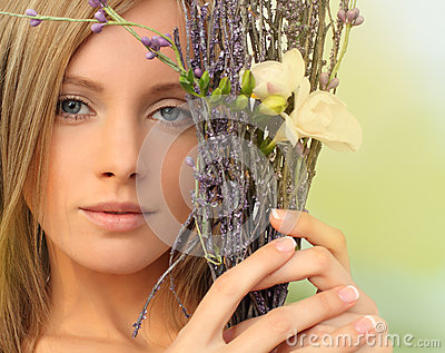 Spring season woman