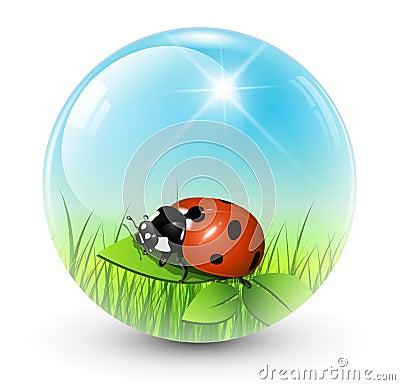 Spring sphere